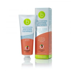 141198 Multifunctional Whitening Toothpaste Jordgubb Mint