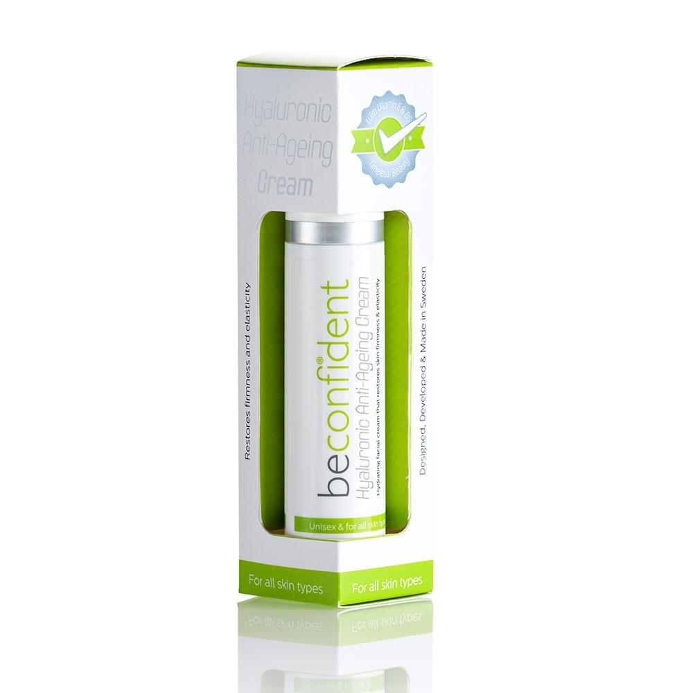 180700 Hyaluronic Anti Ageing Cream 50 ml packaging