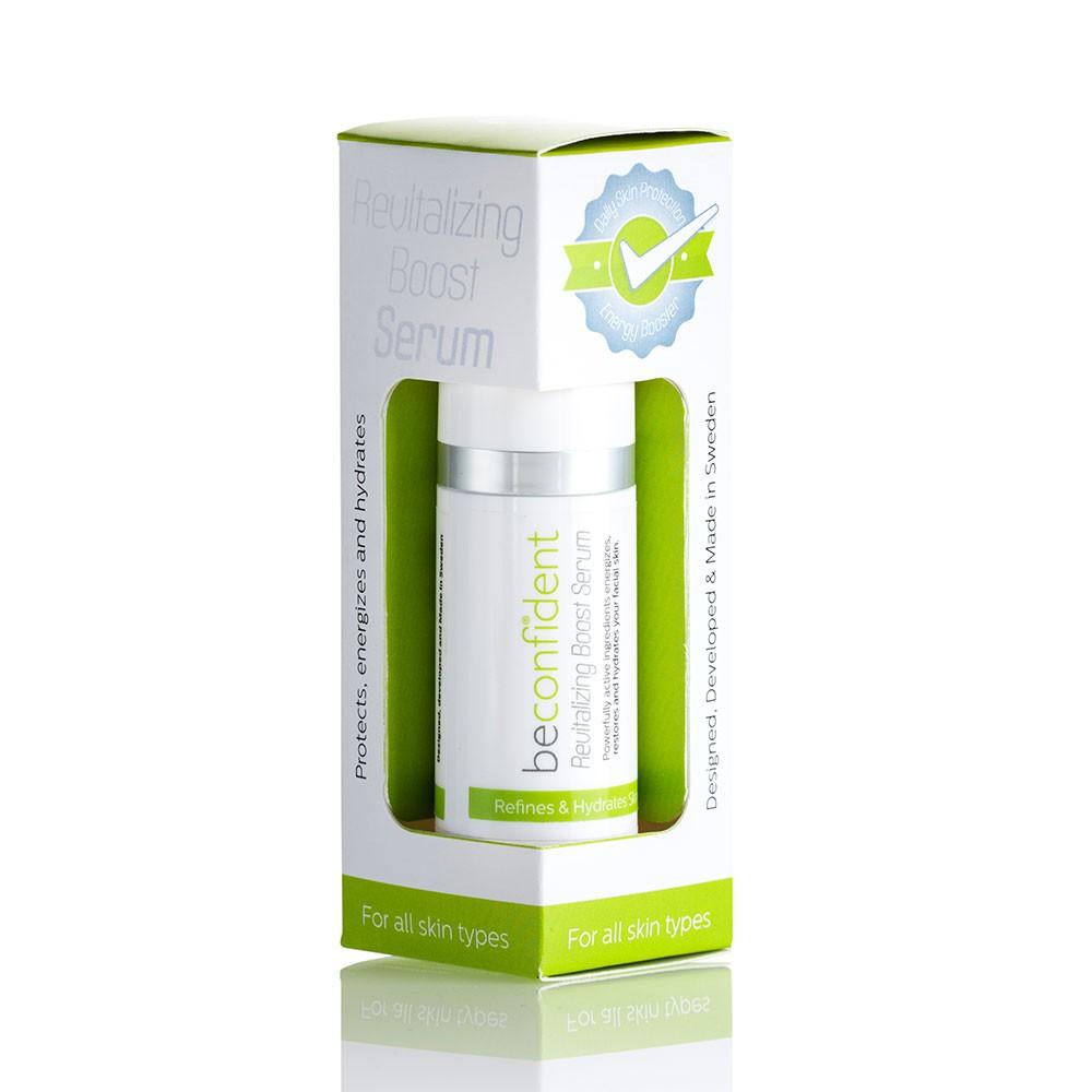 181098 Revitalizing Boost Serum packaging
