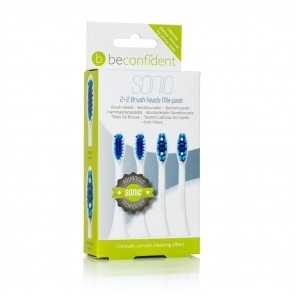 651198 Sonic Toothbrush heads Mixpack RegularWhitening White
