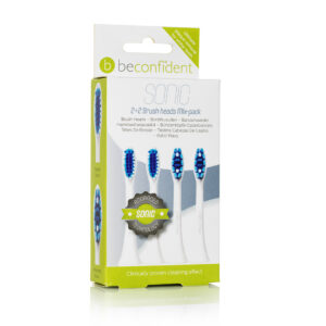 Beconfident® 22 Mix brushpackwhite 651198