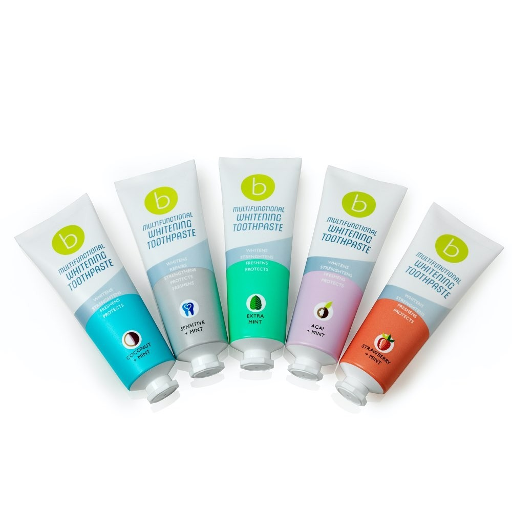beconfident multifunctional toothpaste multi