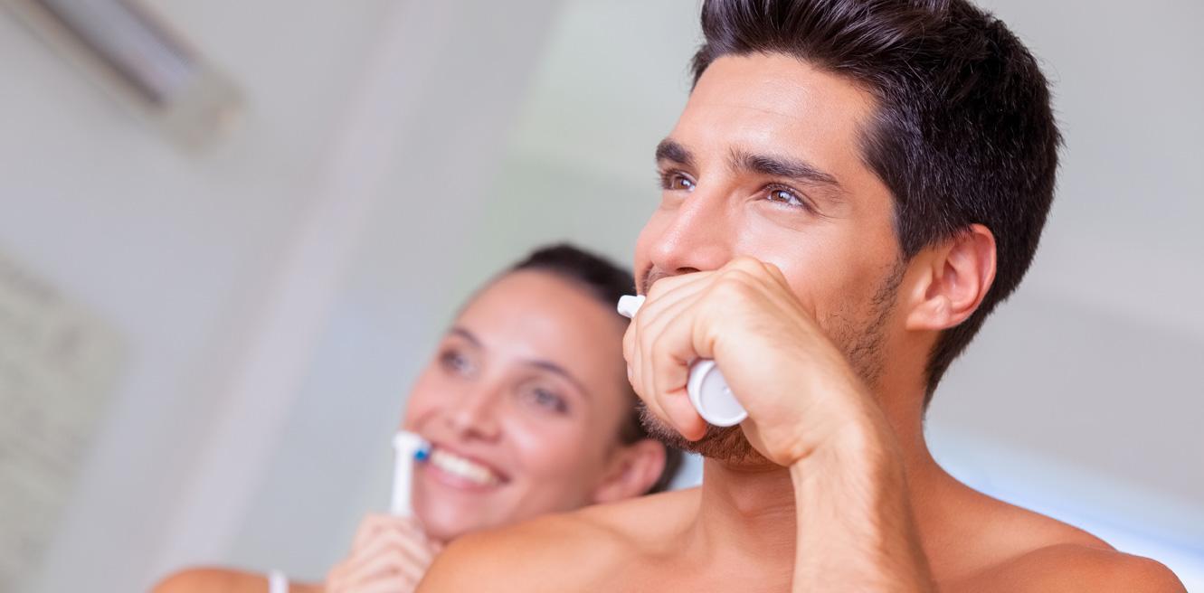 munvard borstar tanderna