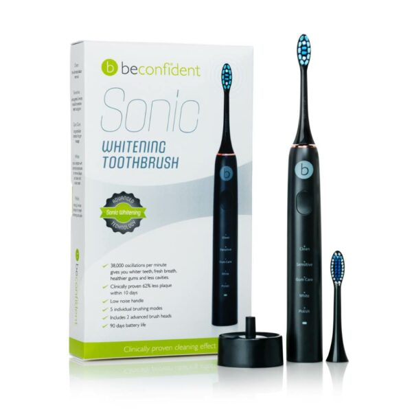 sonic toothbrush black